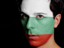 Флаг Болгарии Стоковая Фотография RF