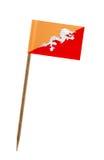 флаг Бутана Стоковые Фото