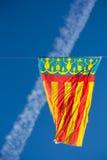 Флаг Валенсия Стоковое Изображение RF