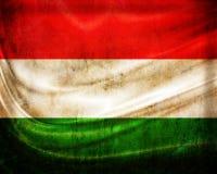 Флаг Венгрия Grunge иллюстрация вектора