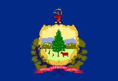 флаг Вермонт Стоковое Изображение RF
