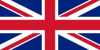 Флаг Великобритании Стоковые Изображения