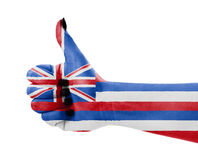 флаг Гавайские островы Стоковые Фото