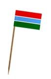 флаг Гамбия Стоковое Фото