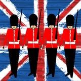 Флаг гвардейцев Стоковые Фото