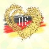 флаг Германия иллюстрация штока