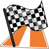 Флаг гонки Стоковое Фото