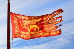 Флаг города Венеции стоковая фотография rf
