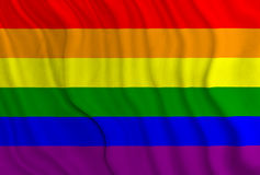 Флаг гордости Стоковая Фотография RF