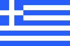 флаг Греция также вектор иллюстрации притяжки corel Стоковые Фото