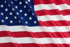 Флаг, День независимости или 4-ый США из июля Стоковое Изображение
