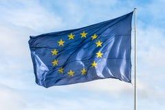 Флаг Европейского союза Стоковое Изображение
