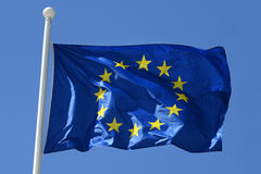 Флаг Европейского союза Стоковые Фотографии RF