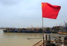 Флаг звезды китайца 5 Стоковые Фото