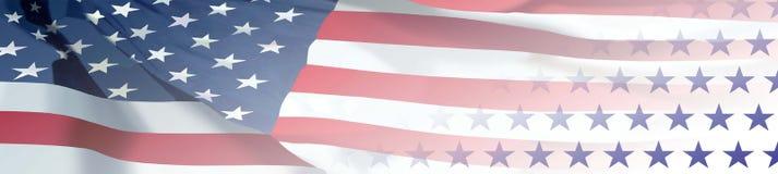 Флаг & звезды Стоковые Изображения