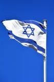 Флаг Израиль Стоковые Фотографии RF