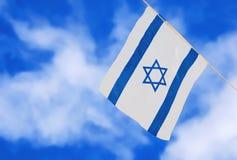 Флаг Израиля на День независимости Стоковое Изображение RF