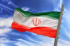 флаг Иран Стоковые Изображения
