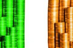 Флаг Ирландия Стоковое Изображение RF