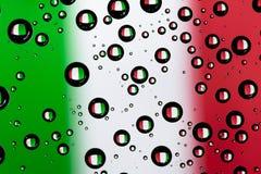 Флаг Италии Стоковое Изображение RF