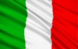 флаг Италия Стоковое фото RF