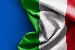 флаг Италия Стоковые Изображения