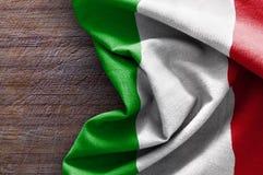 флаг Италия Стоковое Изображение