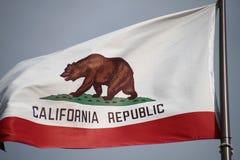 Флаг Калифорнии стоковые фотографии rf