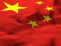 Флаг Китая, PRC Стоковые Изображения RF