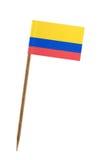 флаг Колумбии Стоковые Изображения RF