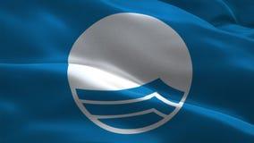 Флаг Марины голубой акции видеоматериалы