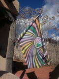 Флаг мира стоковая фотография rf