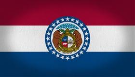 Флаг Миссури иллюстрация штока