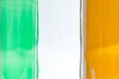 Флаг национального флага Ирландского Ирландии Стоковая Фотография