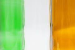 Флаг национального флага Ирландского Ирландии Стоковое фото RF