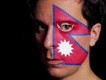 Флаг Непала стоковые фото