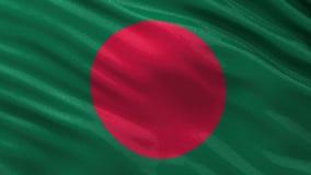 Флаг петли Бангладеша безшовной Стоковое фото RF