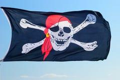 Флаг пирата Стоковые Изображения RF