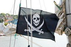 Флаг пиратов стоковое изображение rf
