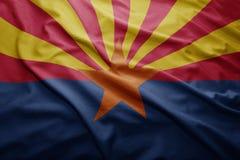 Флаг положения Аризоны стоковая фотография