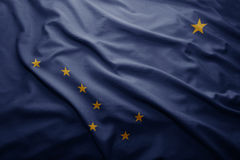 Флаг положения Аляски бесплатная иллюстрация