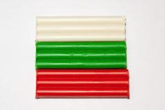 Флаг положения глины Стоковая Фотография RF