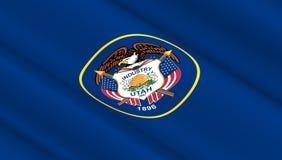 Флаг положения Юты Стоковое Изображение RF