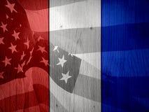 флаг предпосылки патриотический Стоковые Изображения RF