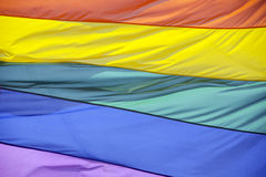 Флаг радуги Стоковые Фотографии RF