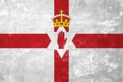Флаг Северной Ирландии Стоковое Изображение RF