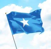 Флаг Сомали Стоковые Изображения