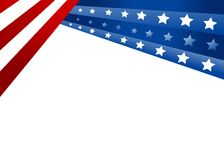 флаг США Стоковые Изображения RF