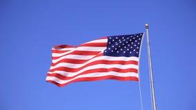 флаг США видеоматериал