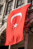 Флаг Турции Стоковая Фотография
